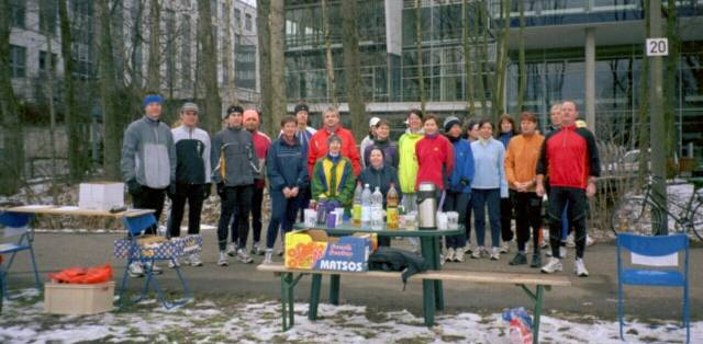 20. Trainingsmarathon